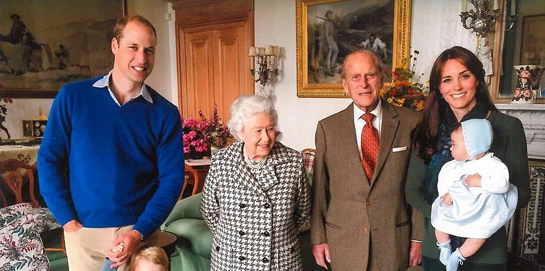 Prince William and Kate Middleton Say George, Charlotte and Louis Miss Great-Grandpa Prince Philip