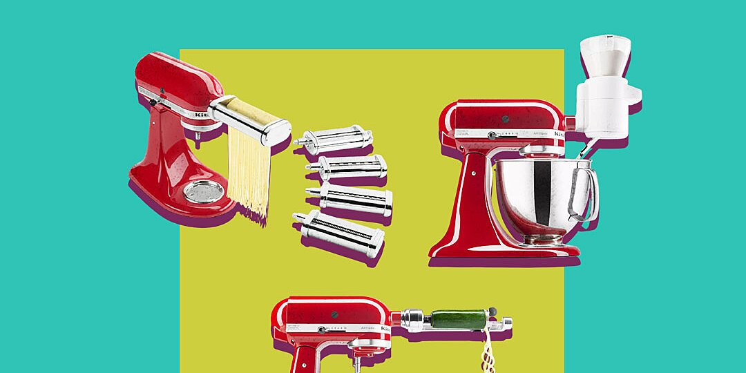 the 10 best kitchenaid mixer attachments to buy in 2021