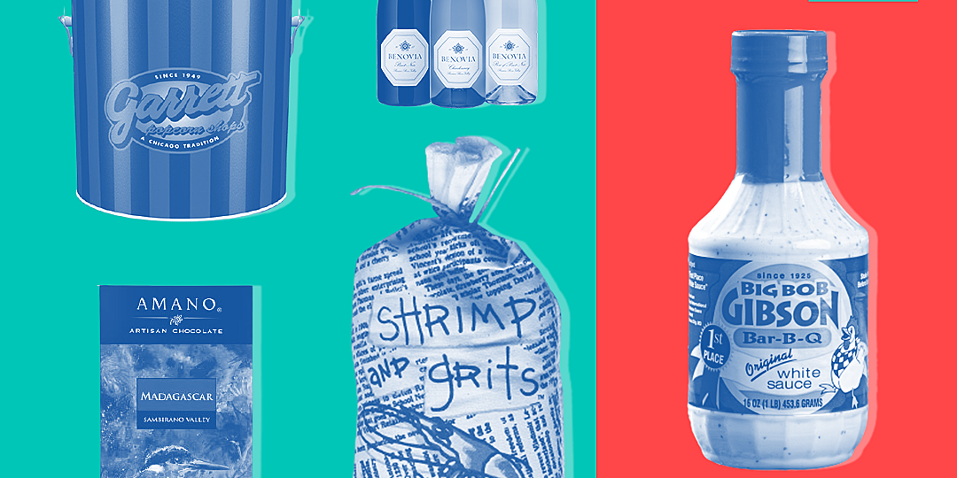 50 food gifts from 50 states