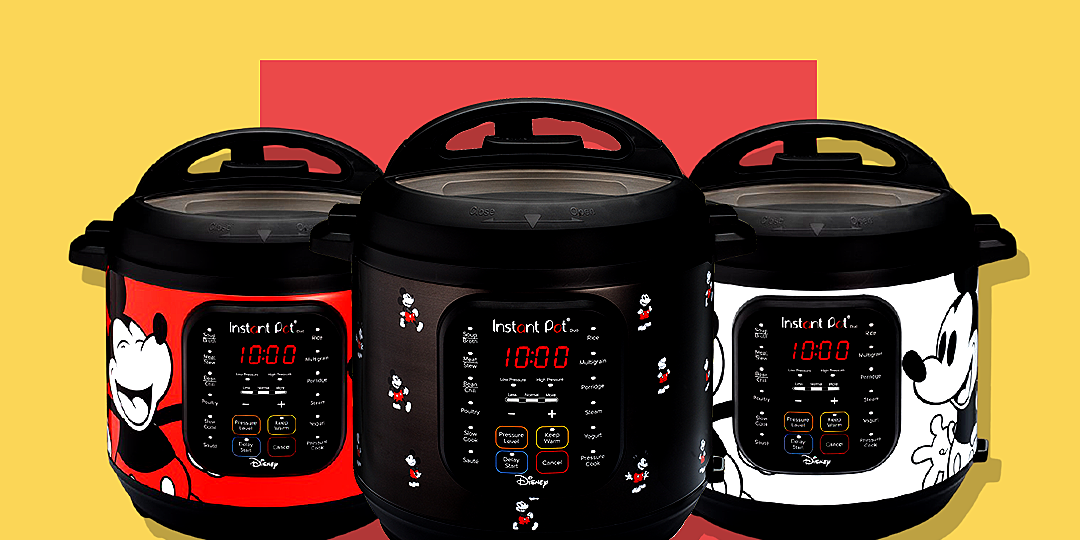 mickey mouse instant pots available exclusively at walmart