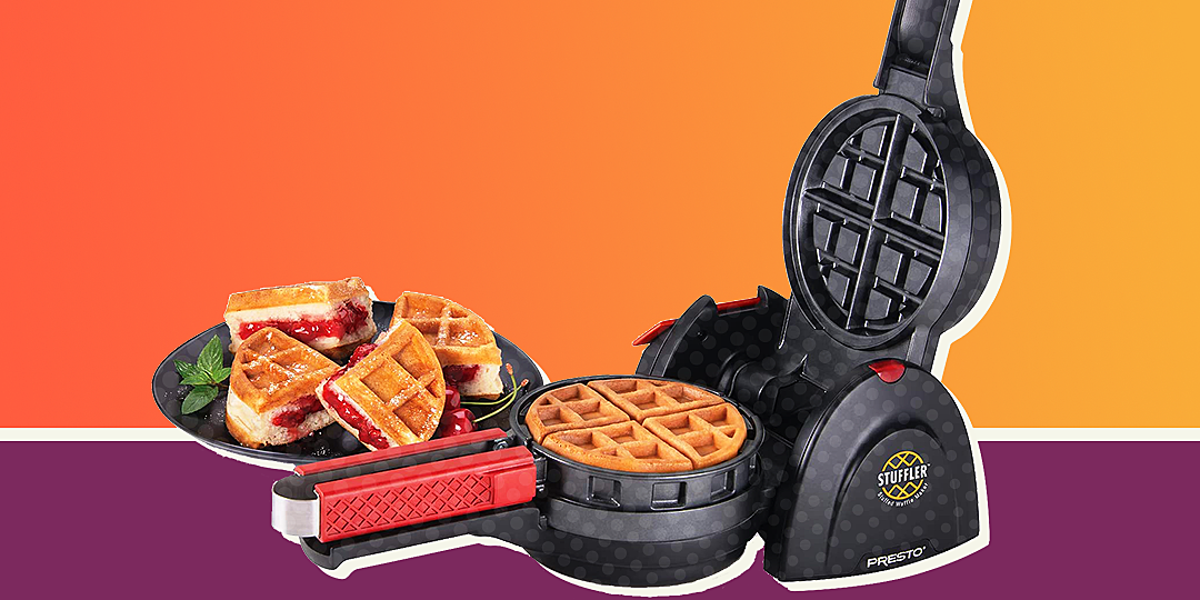 This Brilliant Stuffed Waffle Maker Is at Its Lowest Price Ever