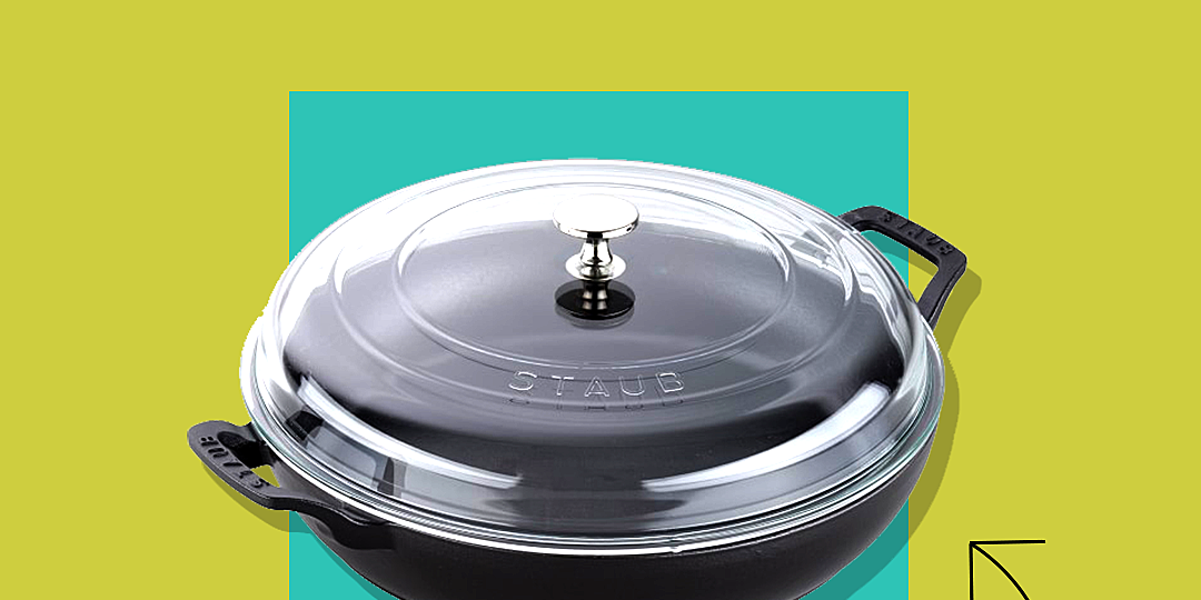 staubs everything pan is 58 percent off for a limited time