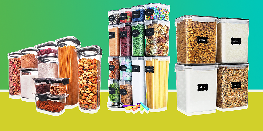 the best dry food storage containers to buy in 2021