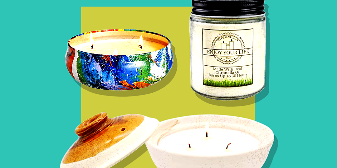 5 citronella candles that keep bugs away and actually smell good