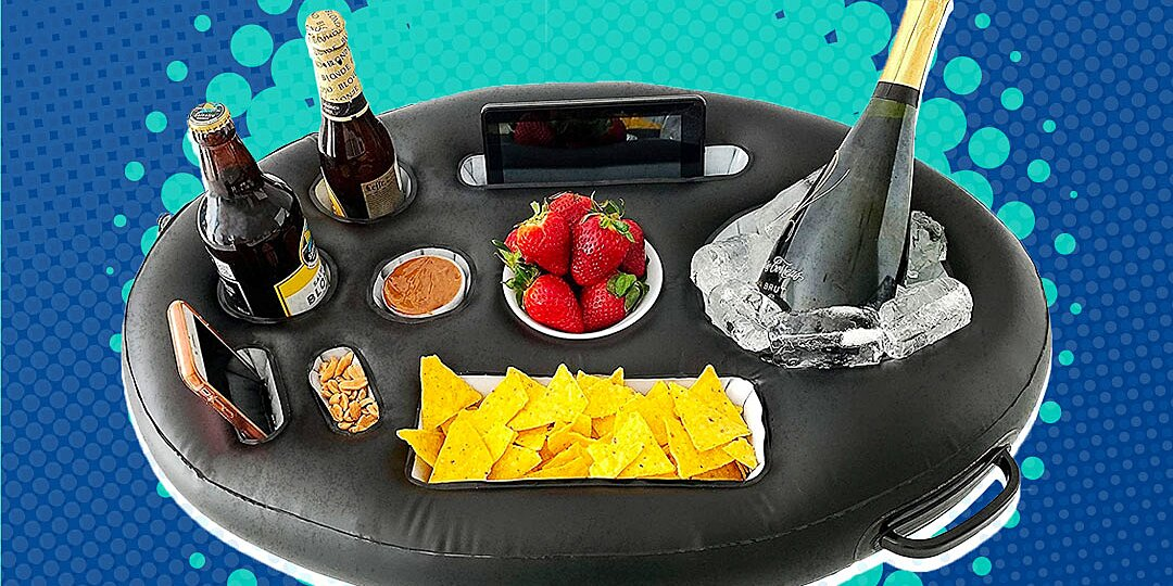 floating food and drink holders to buy this summer