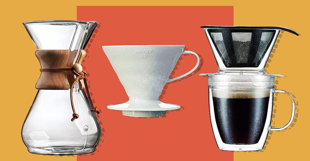 9 Best Pour-Over Coffee Makers on Amazon, According to Reviews
