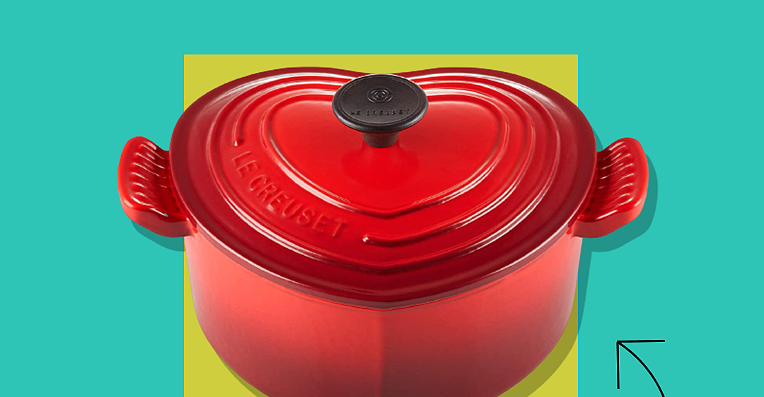 Le Creuset's Heart-Shaped Cocotte Is an Ideal Gift for a Loved One — and It's 40% Off Until Tonight