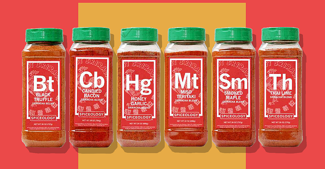 If You Love Sriracha Sauce, You Need These Incredible New Spice Blends