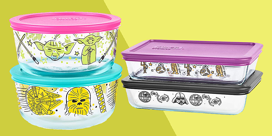 star wars pyrex sets available on amazon