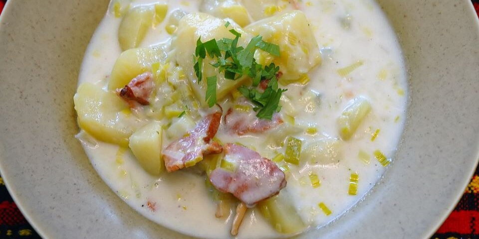 creamy potato leek soup ii recipe