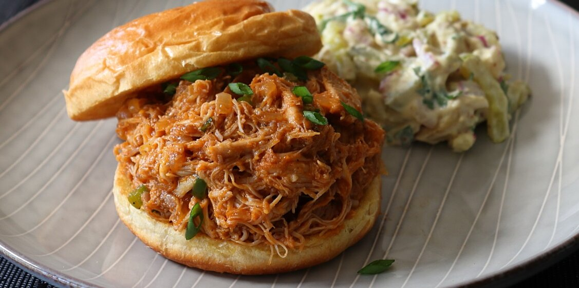 Chef John's Pulled Chicken Sloppy Joes Are Delicious and Easy for Lunch or Dinner