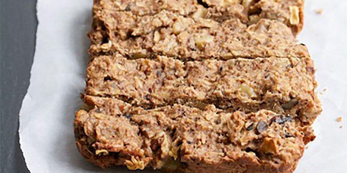 toasted oatmeal apple breakfast bars