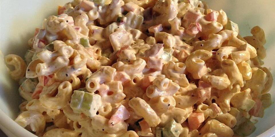 ginas pasta salad recipe