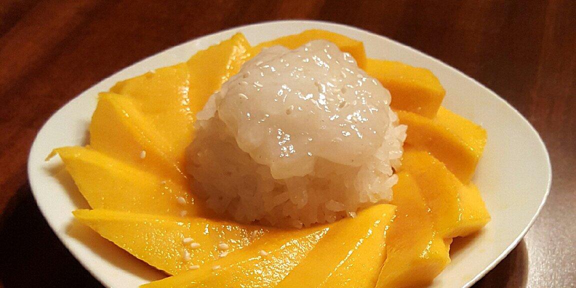 thai sweet sticky rice with mango khao neeo mamuang recipe
