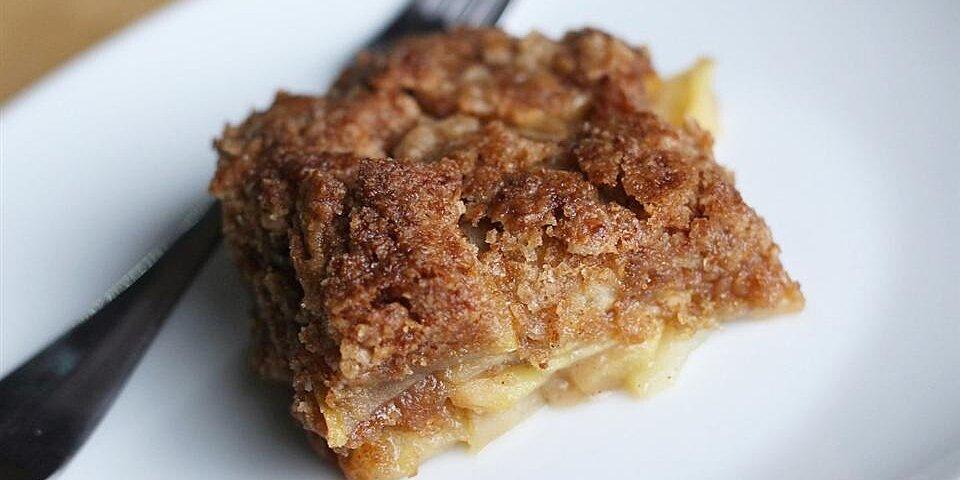 apple cobbler crumble recipe
