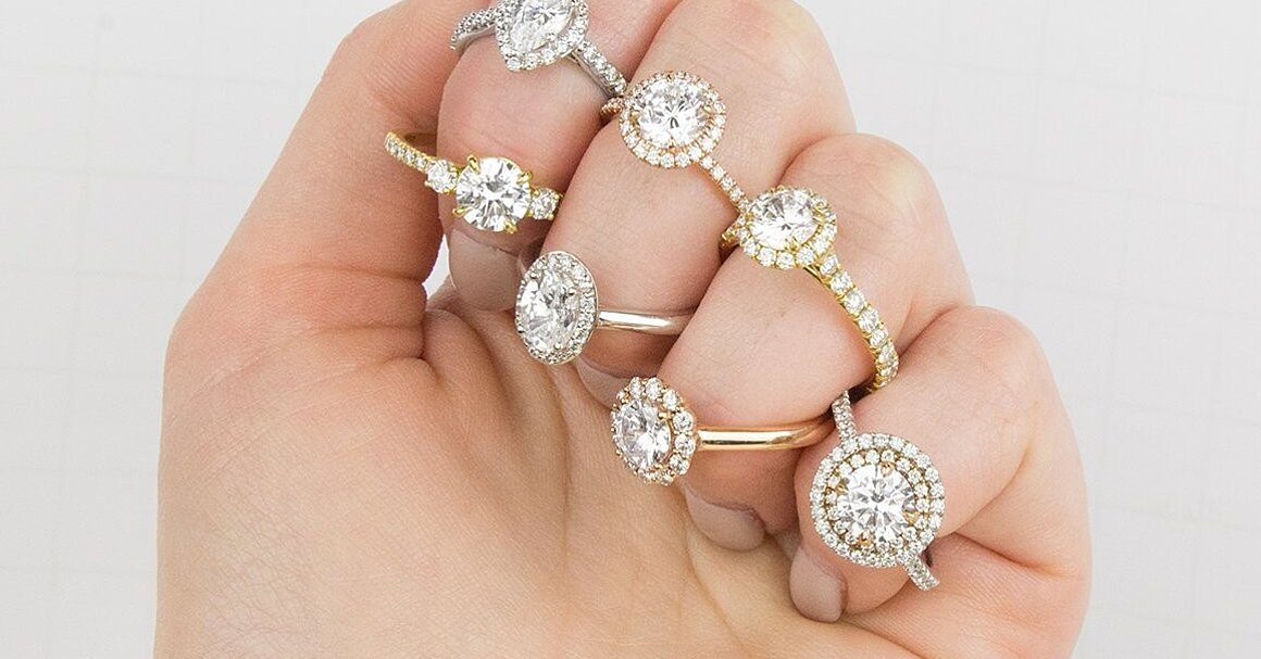 24 Moissanite Engagement Rings For The Eco Friendly Couple