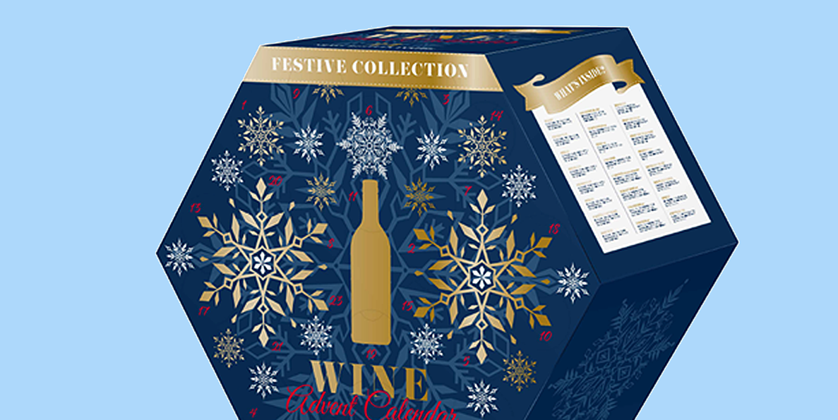 aldis wine advent calendar is back for the holidays