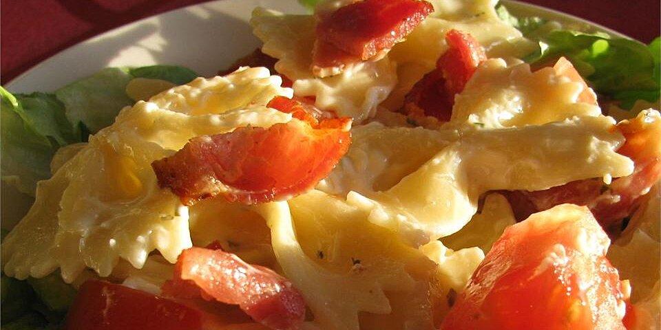 blt bow tie salad recipe