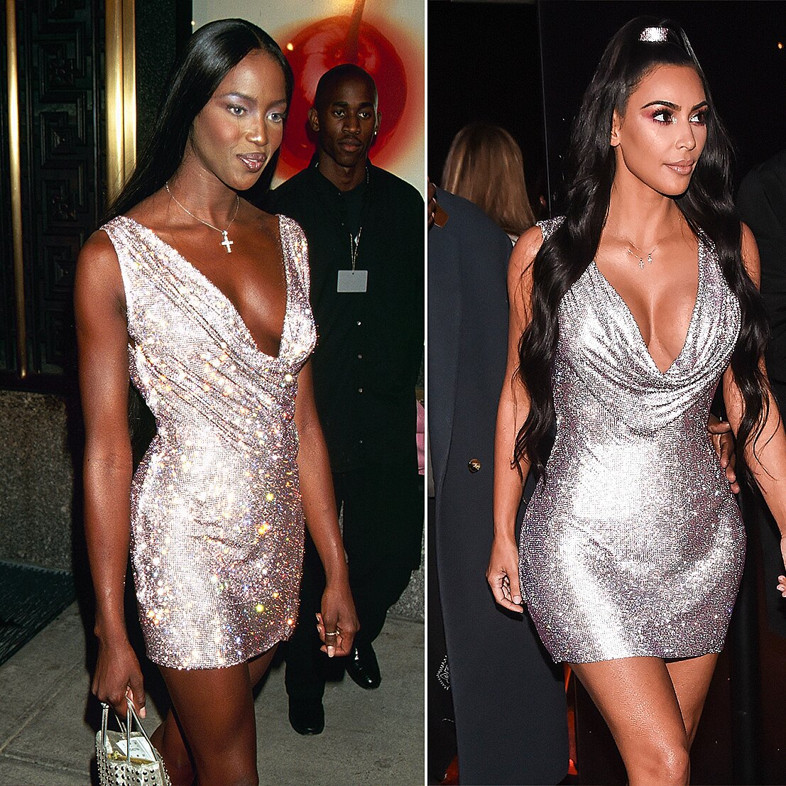 Kim Kardashian and Naomi Campbell 'Laugh' at Rumors that She's Been Copying the Model's Looks | PEOPLE.com