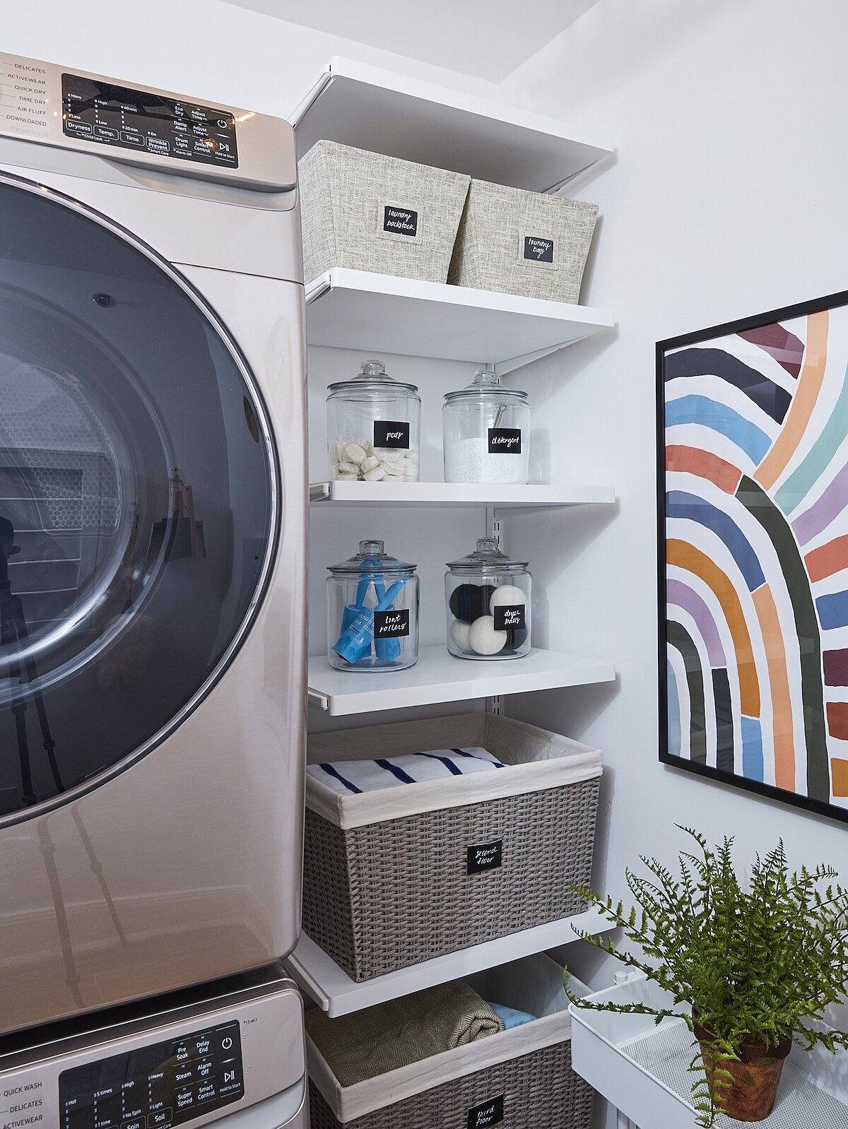 4 Genius Laundry Room Organization Ideas For Small Rooms Real Simple
