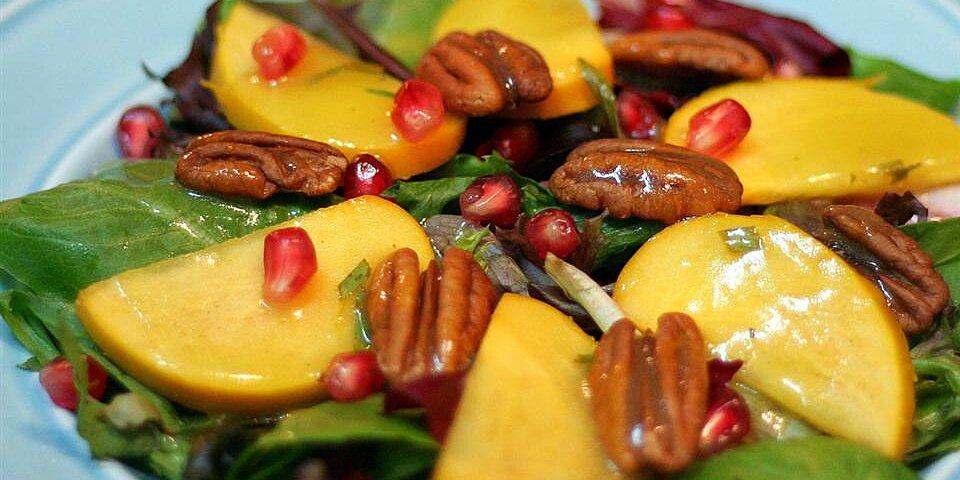 persimmon and pomegranate salad recipe