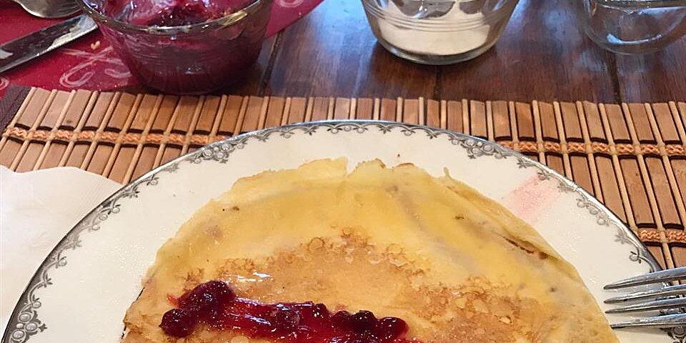 traditional swedish pancakes recipe