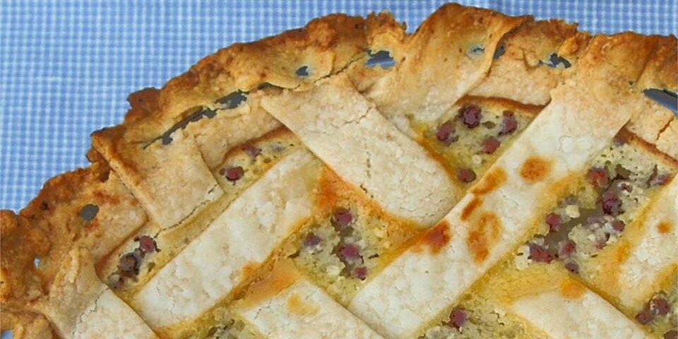 sour cream gooseberry pie recipe