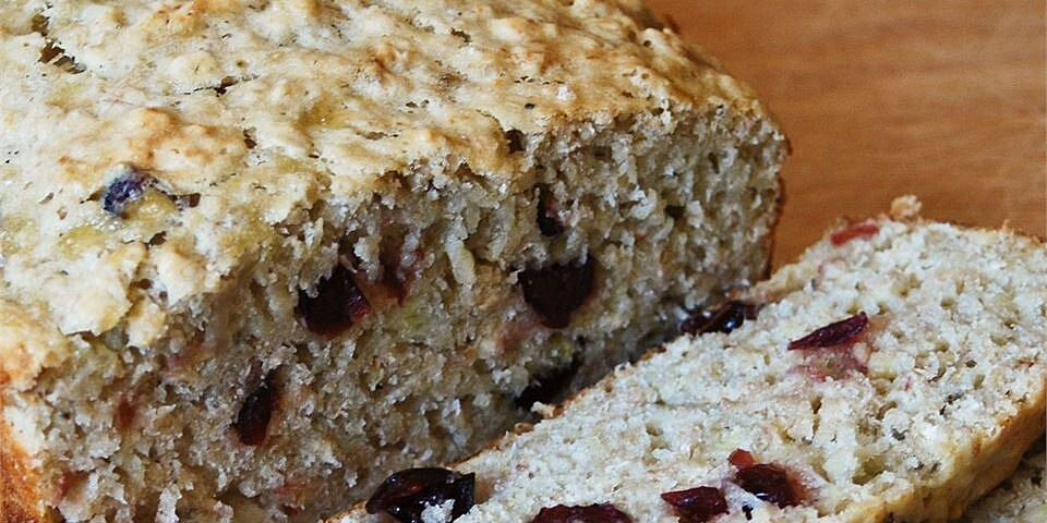 cranberry banana oat bread recipe