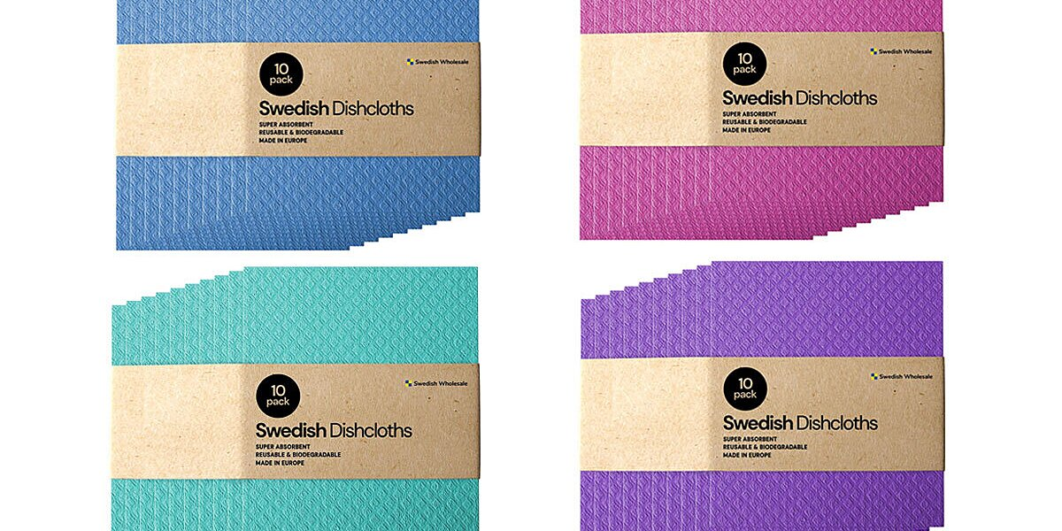 These TikTok-Famous $20 Swedish Dishcloths Have Earned Over 13,500 Five-Star Ratings from Amazon Shoppers