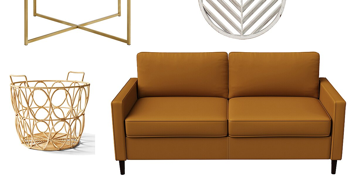 Walmart Secretly Put Tons of Cute Fall Home Items on Sale — Including a Cozy Sofa for Just $255