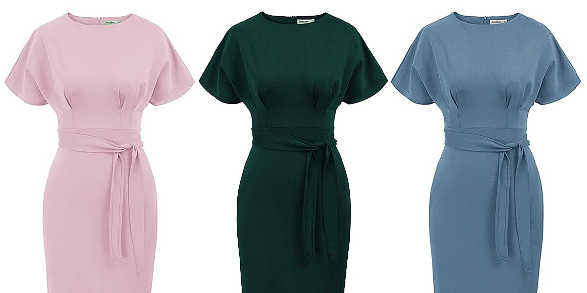 Shoppers Say This Stretchy Dress with Pockets Is 'Classy but Comfortable' — and It's on Sale for $28