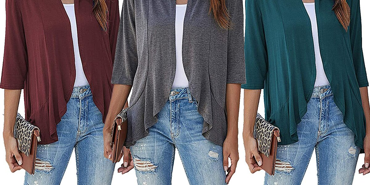 This Lightweight Cardigan That You'll 'Wear All Year' Comes in 13 Colors, and Is on Sale for $20