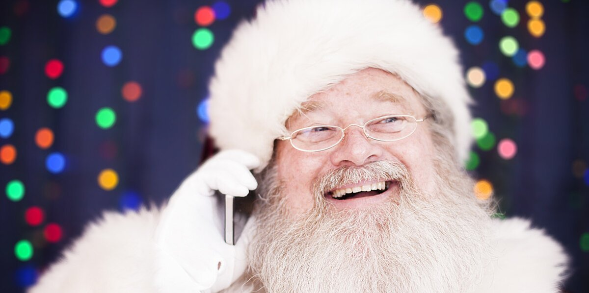 forget stamps you can reach santa claus by phone