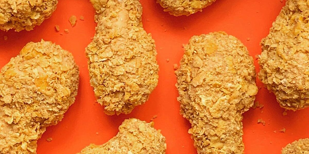 Don't Believe Your Eyes. That's Ice Cream, Not Fried Chicken