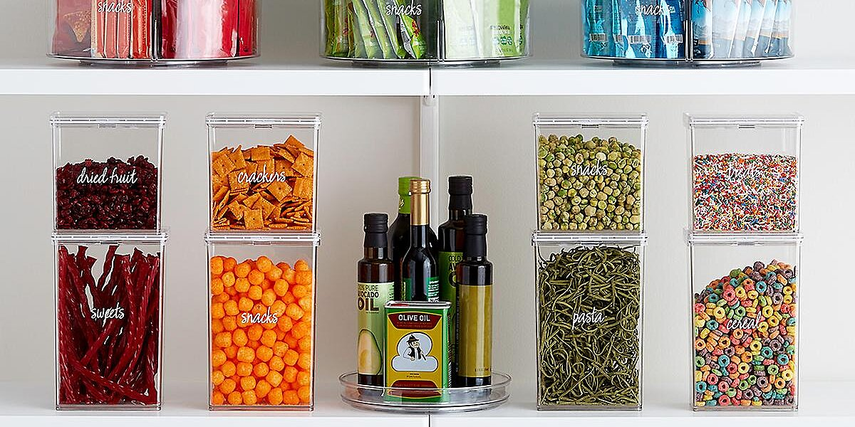 The Key to The Most Organized Kitchen Yet are These Nifty Containers