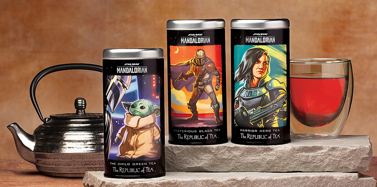 Mandalorian Themed Teas Are Available From The Republic Of Tea Food Wine