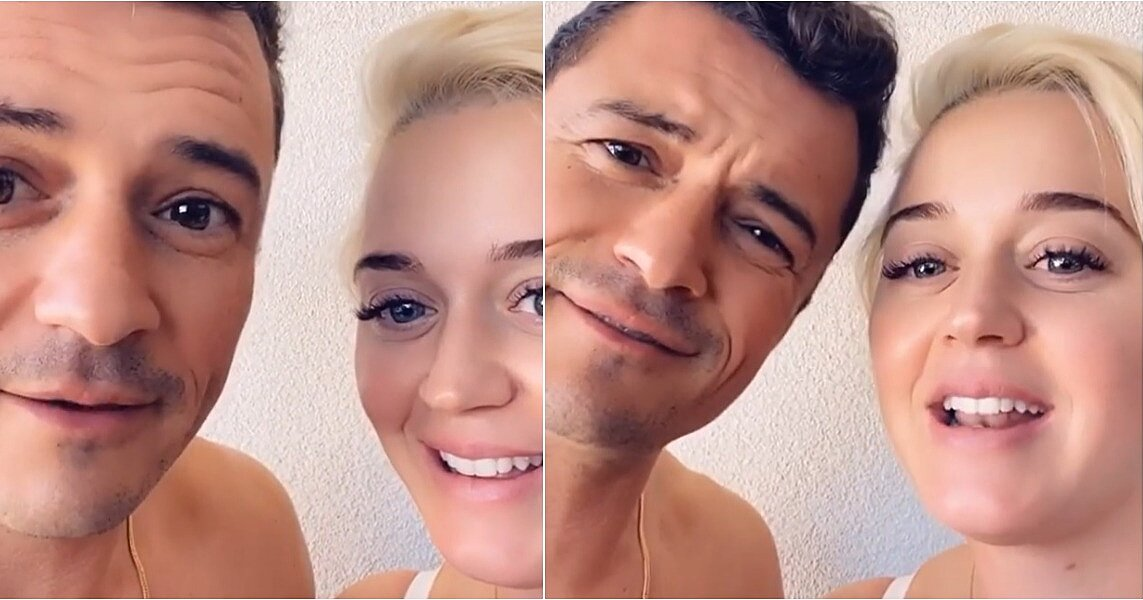 Katy Perry and Orlando Bloom Sang About a Crucial Voting Reminder