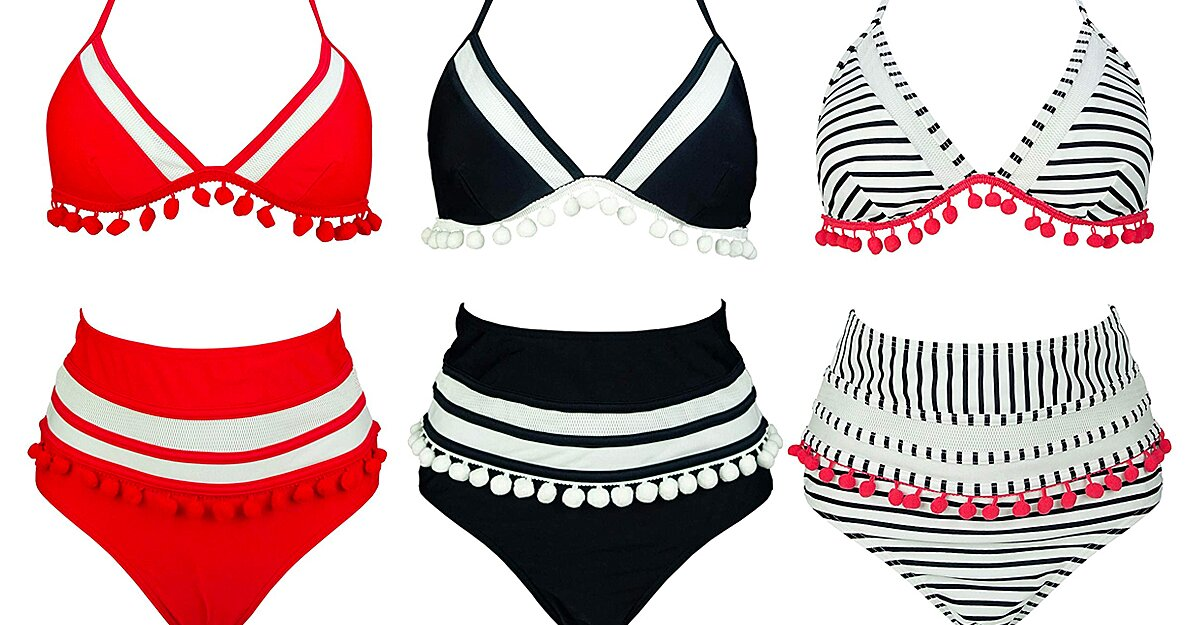 Image This 29 Bikini Is So Flattering It 8217 s Converting Two Piece Skeptics Into Fanatics 8211 PEOPLE