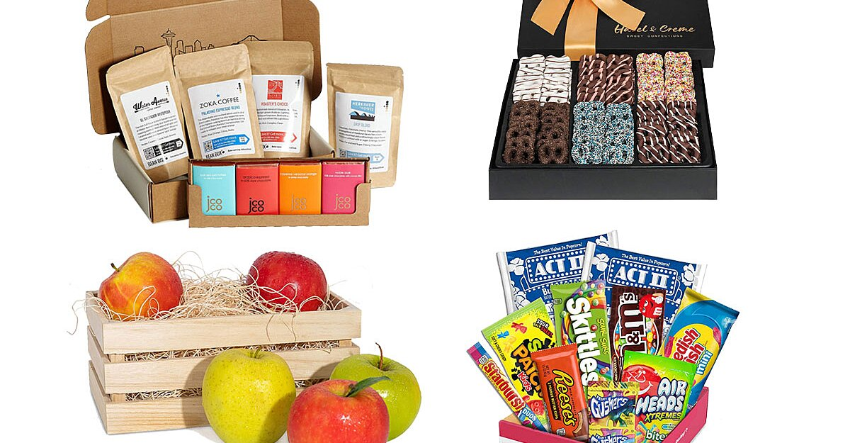 The 10 Best Gift Baskets Under $40 from Amazon That Will Arrive by Christmas