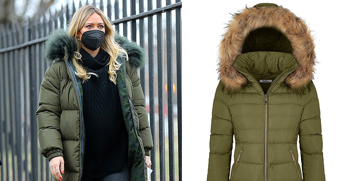 Hilary Duff's $2,190 Puffer Coat Is Already Sold Out, but We Found 7 Amazon Dupes for a Fraction of the Price.jpg