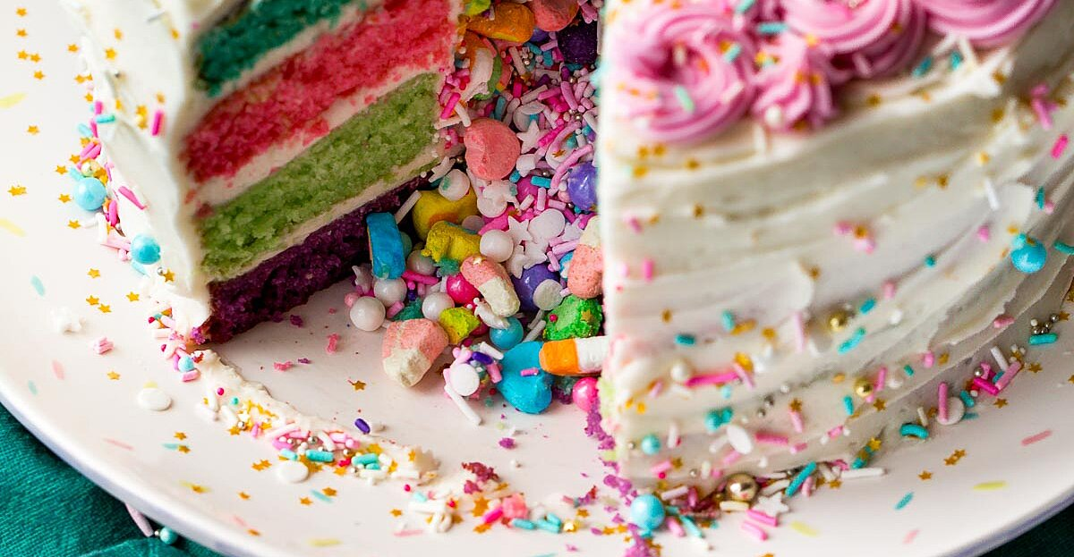 15 Beautiful Birthday Cake Ideas