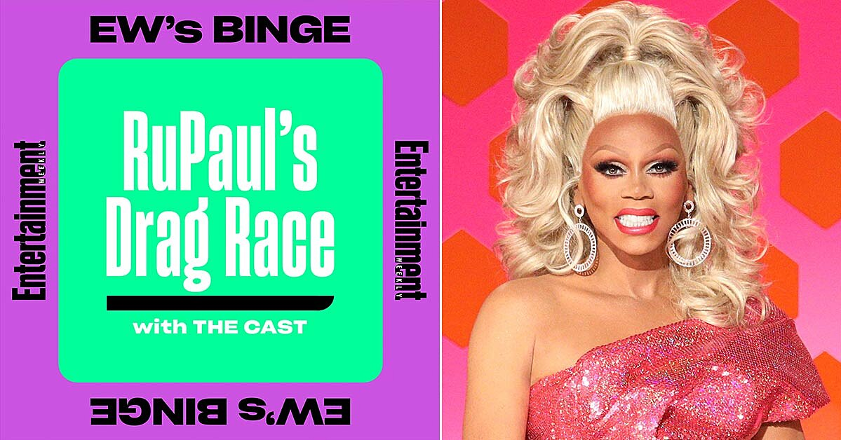 EW's 'BINGE' podcast sashays to season 5 with 'RuPaul's Drag Race' icons