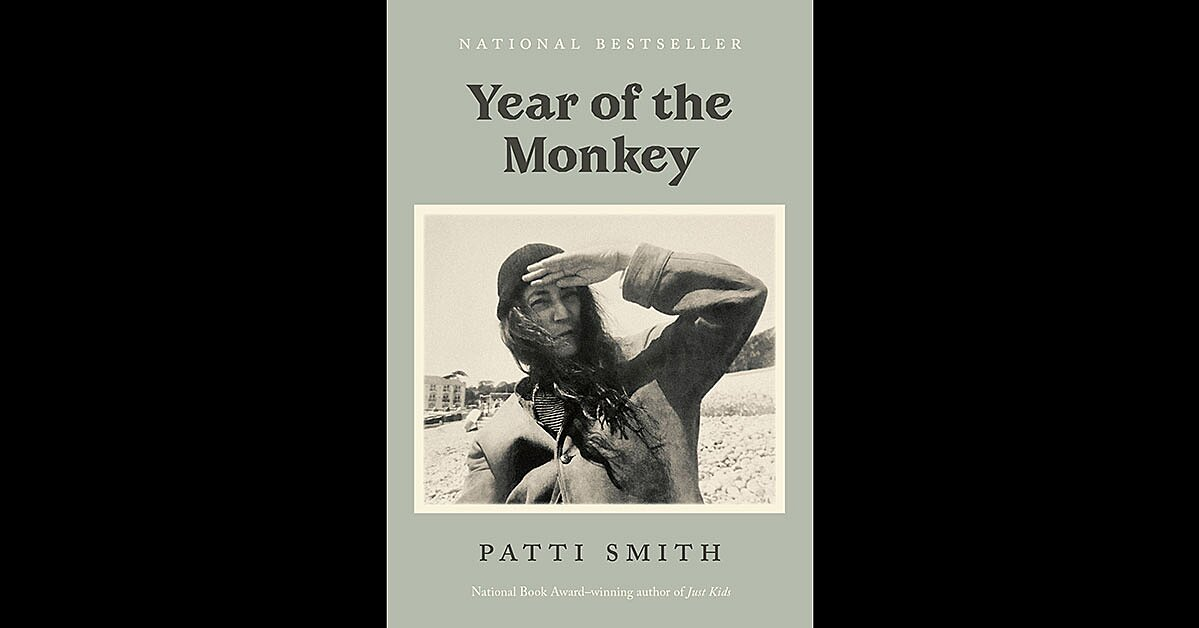 Read an excerpt of Patti Smith's new material from 'The Year of the Monkey'