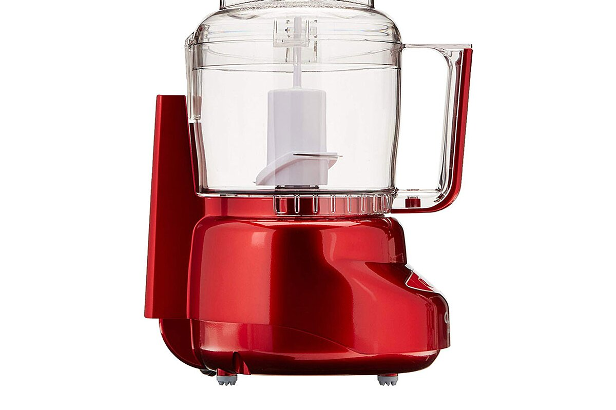 Cuisinart S Mini Food Processor Is On