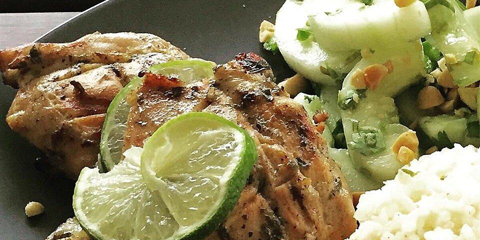 lime tarragon grilled chicken recipe