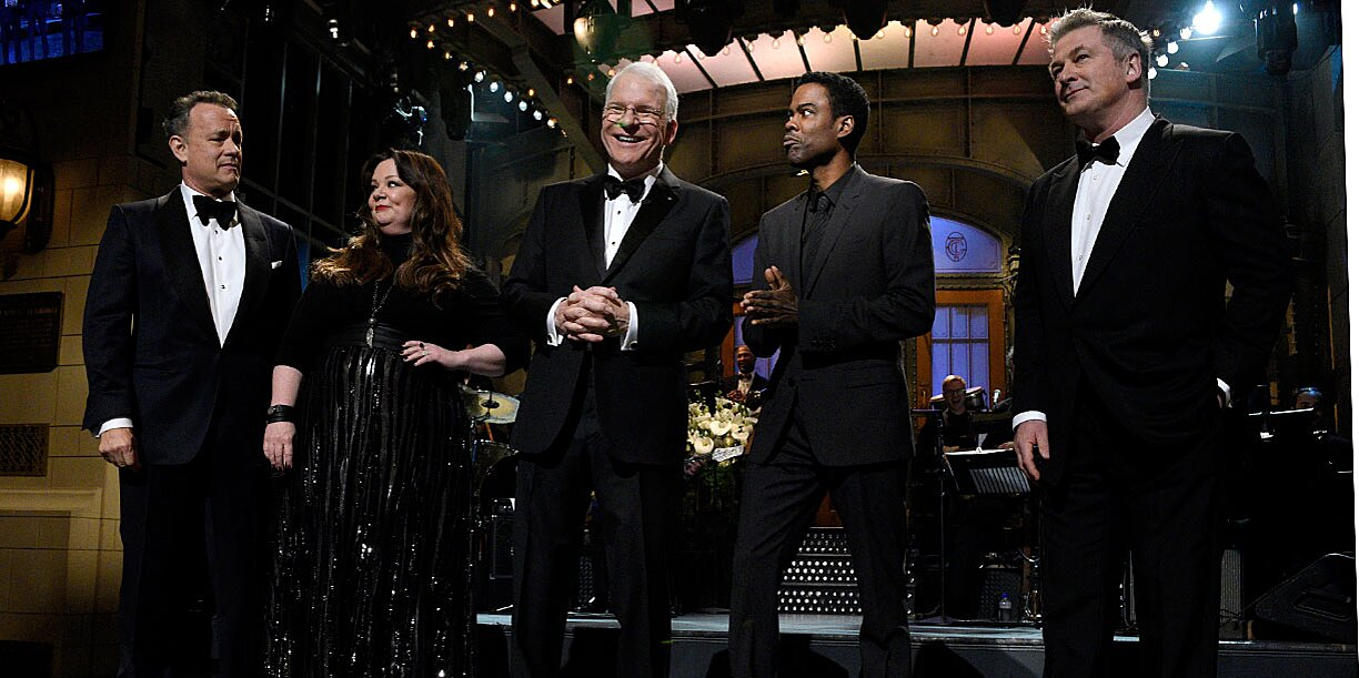 Here S The Full List Of Who Showed Up On The Snl 40th Anniversary Special Ew Com