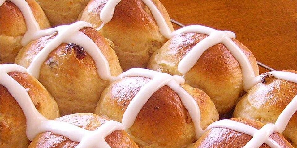 hot cross buns i recipe