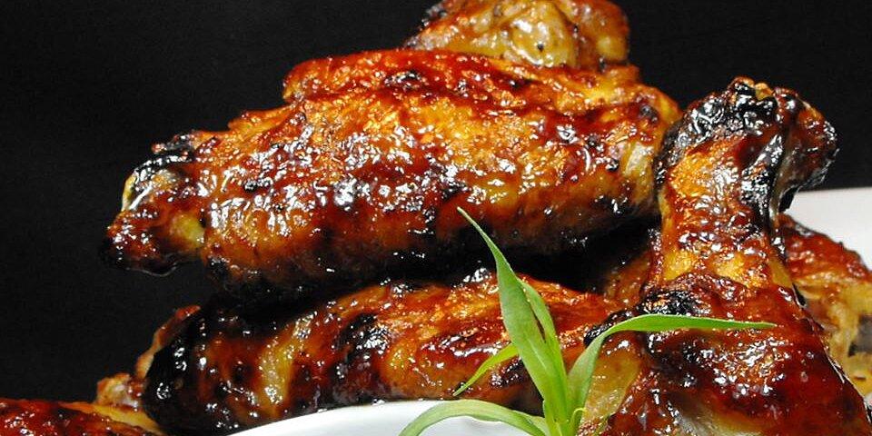 half time hoisin chicken wings recipe