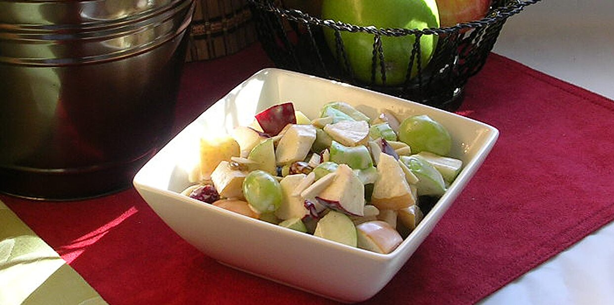 jennys sweet waldorf salad recipe