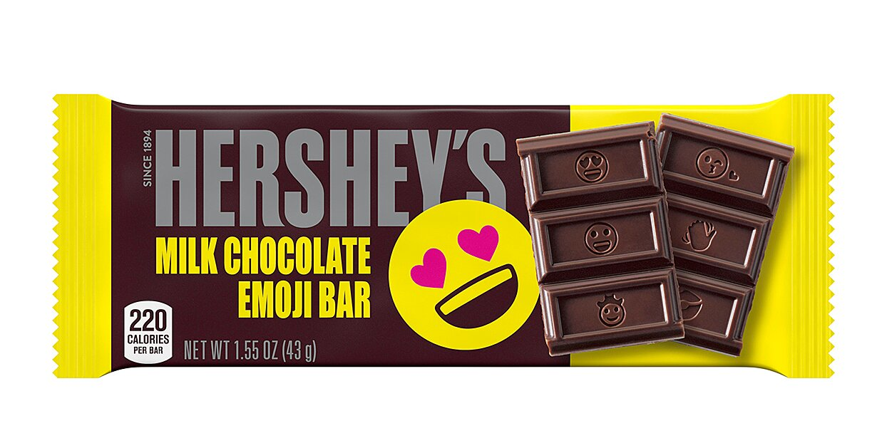 hersheys is changing their iconic chocolate bars for the first time